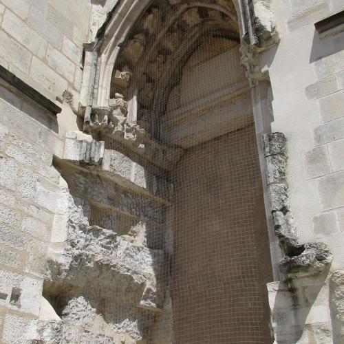 Portail latéral sud façade église Notre-Dame