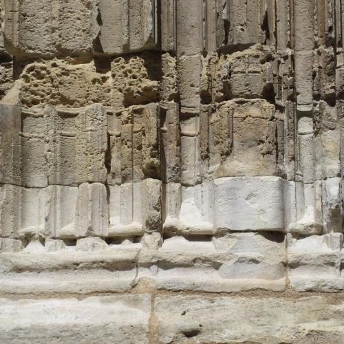 Détail portail sud église Notre-Dame